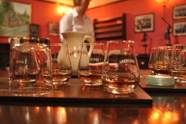 Aberlour tasting, Scotland