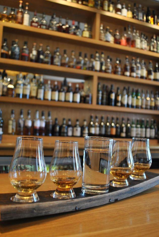 Scotch whisky tasting, 2012