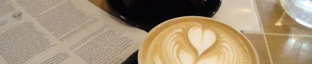 Coffee from Café Coutume, Paris