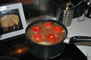 Vegetable soup en étapes, all done for now