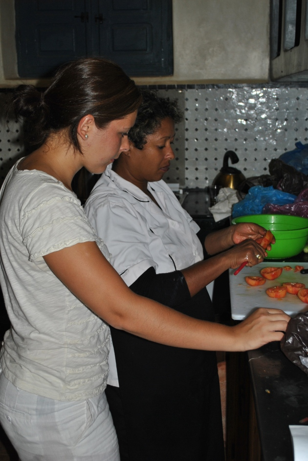 Cooking class in Morocco with Hasna