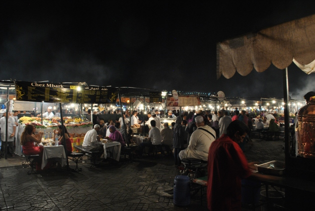 Marrakech, Djemaa El-Fna, Unesco World Heritage site
