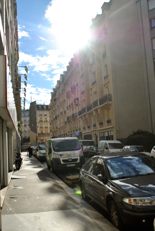 Paris in early November
