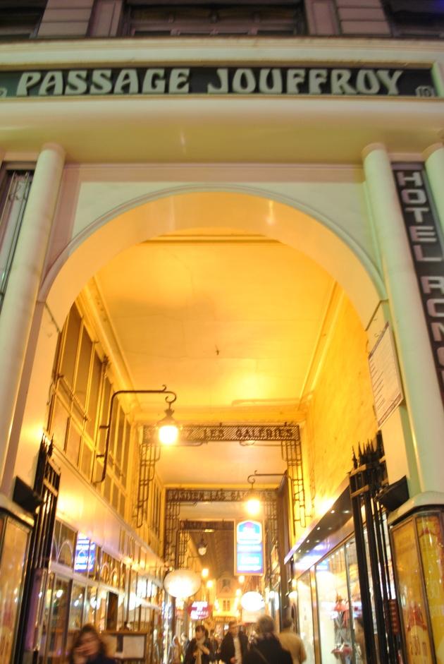 Passage Jouffroy's entrance, Paris