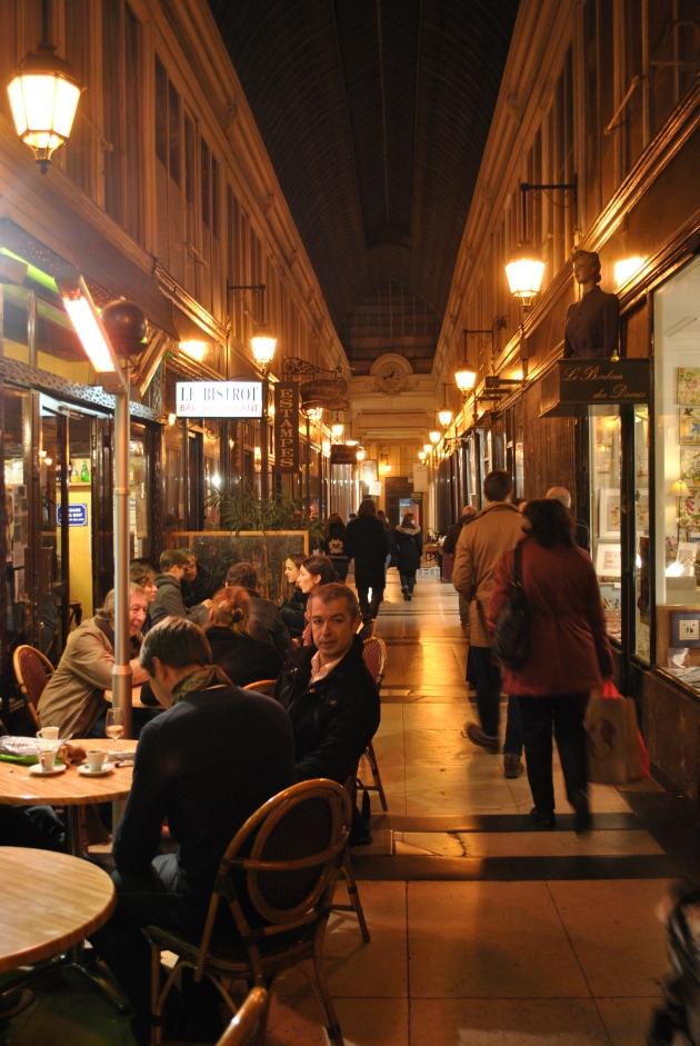 Passage Jouffroy's cafés and restaurants, Paris