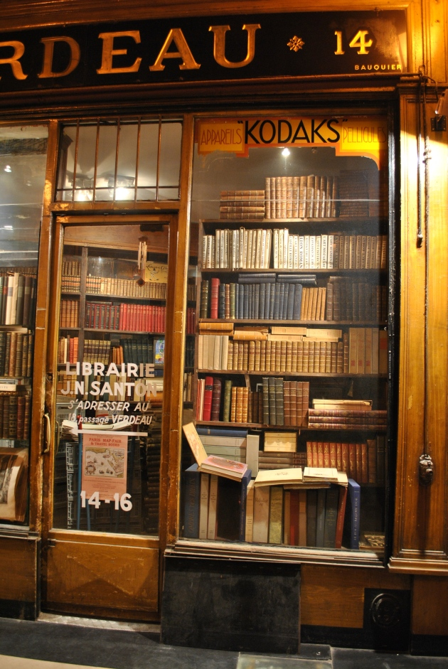 One of passage Jouffroy's lovely book stores