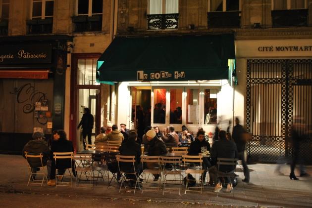 Le Coeur fou, Paris