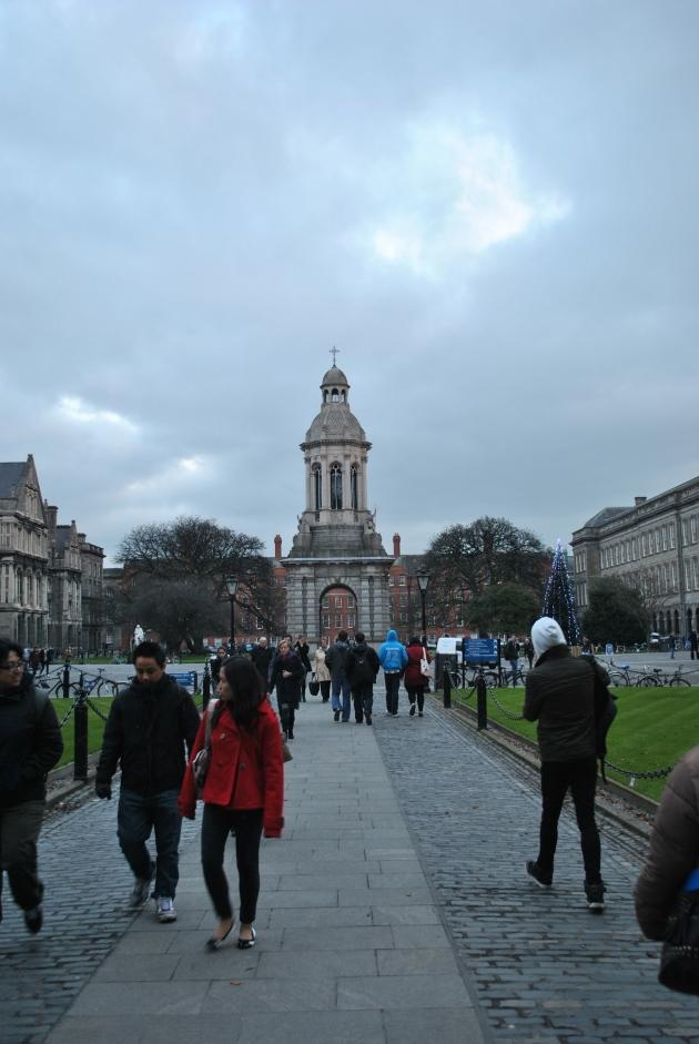 Trinity College grounds, Dublin