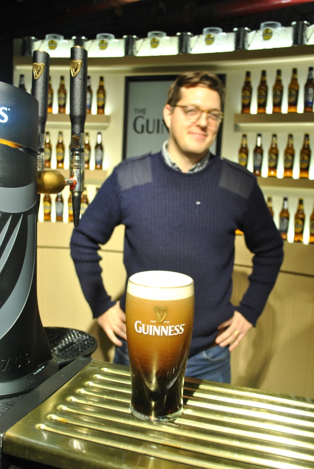 The perfect pour, at Guinness academy