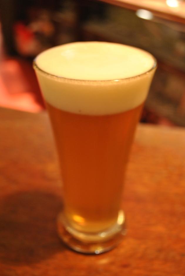 Mulligan Grocer's home brewed beer